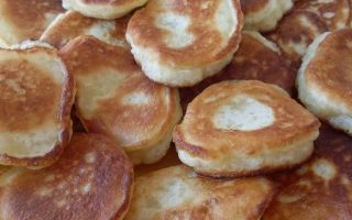 Рецепт оладий как в школьной столовой