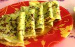 Рецепт блинов с твердым сыром и укропом
