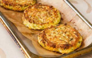 Рецепт оладий из кабачков в духовке