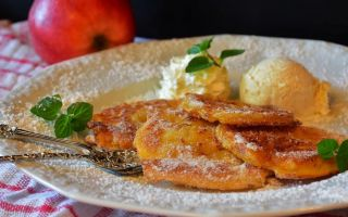 Рецепт оладий с бананом и творогом