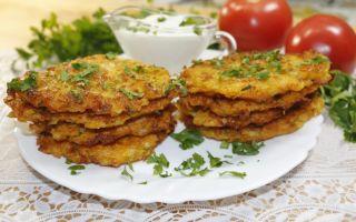Рецепт луковых оладий