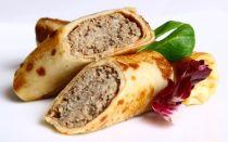 Рецепт мясных блинчиков на кефире