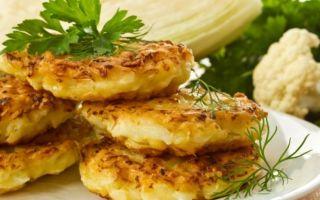 Рецепт капустных оладий на кефире