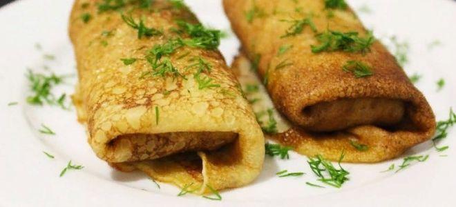 Рецепт начинки с курицей для блинов
