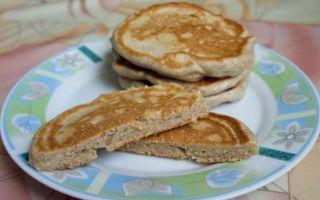 Рецепт оладий из ржаной муки
