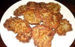 Рецепт картофельных оладий с грибами