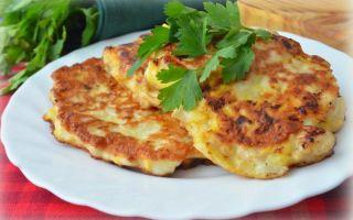 Рецепт диетических куриных оладий