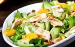 Рецепт салата с добавлением яичных блинов