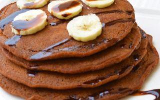 Рецепт шоколадных оладий