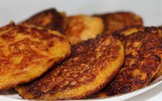 Рецепт морковно-яблочных оладий