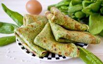 Рецепт шпинатных блинов