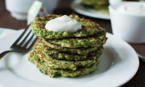Рецепт оладий из брокколи