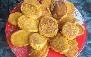 Рецепт оладий из кабачковой икры