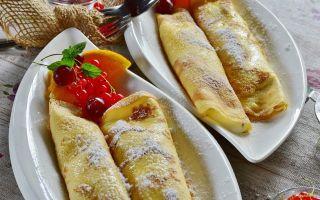 Рецепт итальянских блинчиков