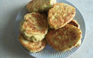 Рецепт гороховых оладий