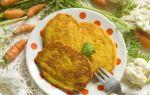 Рецепт оладий из цветной капусты