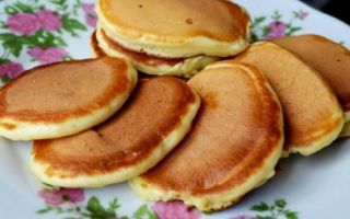 Рецепт оладий на сухой сковороде