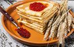 Рецепт пшеничных блинов