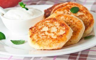 Лучшие рецепты сырников из сметаны
