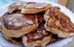 Рецепт оладий с творогом и яблоками