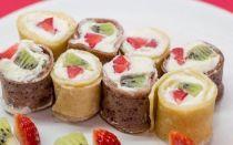 Фруктовые блинчики — витаминный десерт