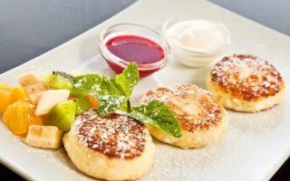 Рецепт геркулесовых сырников