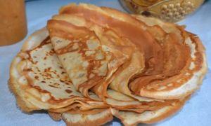 Рецепт бархатных блинчиков
