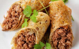 Рецепт мясной начинки для блинов