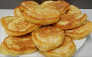 Рецепт оладий с тыквой на кефире