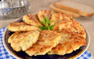 Рецепт куриных оладий с сыром