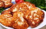 Рецепт мясных оладий